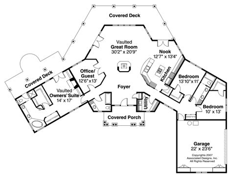 Hexagonal House Plans by Hexagon House Plans Images My Retirement House