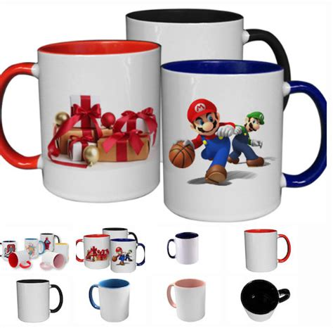 color cup custom colored 15oz mugs iconic carz