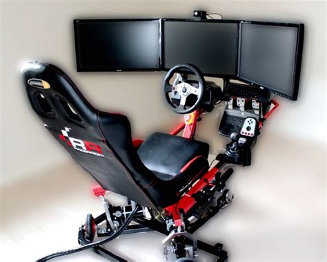 Racing Simulator Chair Hydraulic Racingcube Immersive Motion Controlled Driving Seat