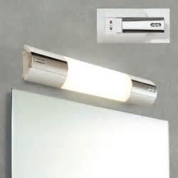 hib shavolite bathroom mirror light with shaver socket