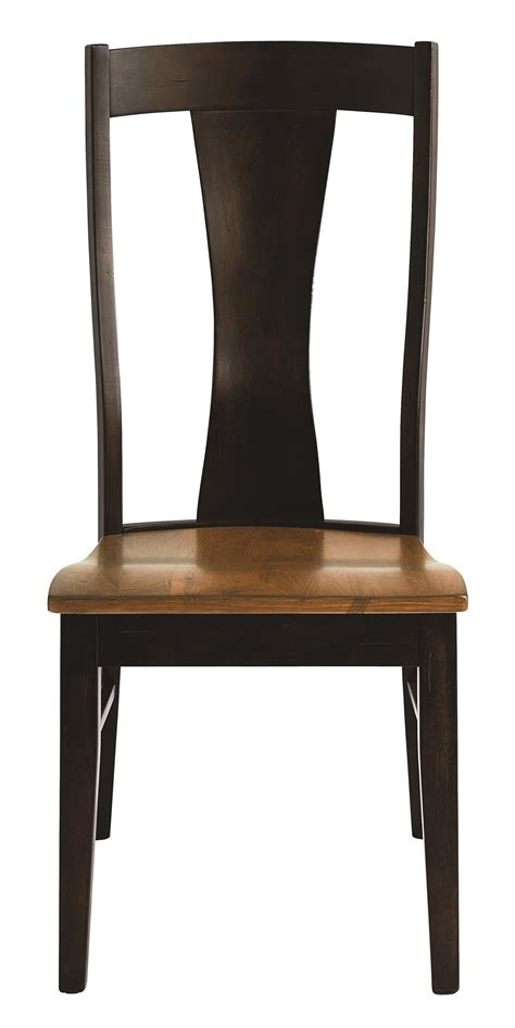 bench made furniture bassett bench made 4015 2000 boone transitional side chair