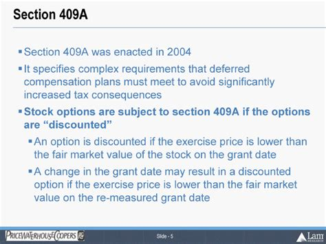 Section 1035 Of The Revenue Code by The Issuecertain Stock Options Are Subject To Potentially