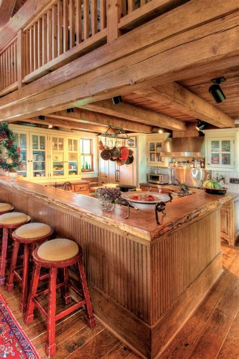 wooden country kitchen wood country kitchen design