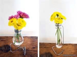 Lightbulb Vases کاردستی با وسایل دور ریختنی کاردستی درست کنیم