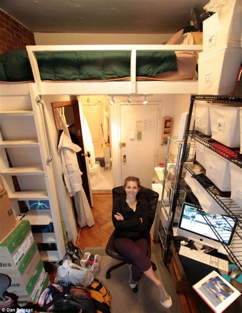 How Big Is 500 Square Feet by Felice Cohen Who Lived In New York City S Smallest