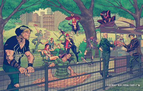 Imagenes De Batman Hipster | hipster superheroes sci fi design
