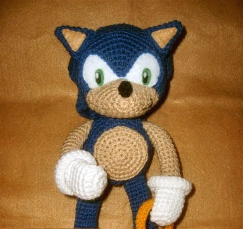 amigurumi hedgehog pattern free sonic the hedgehog crochet pattern at