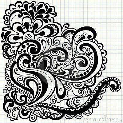 how to draw doodle swirls doodle swirls vector stock images image 11298564