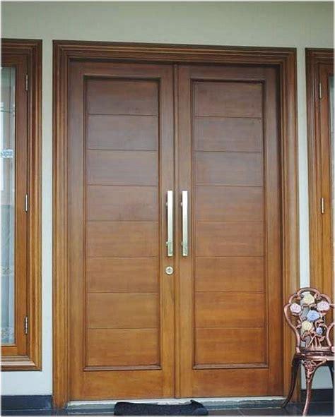 desain pintu depan rumah sederhana pintu rumah 2 pintu modern terbaru pintu rumah minimalis