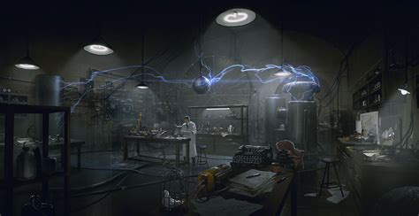 Tesla Coil Experiments Tesla Lab Coil Experiment Characters The Order 1886