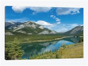 Country Rustic Decor Barrier Lake Kananaskis Country Alberta Canada Canvas
