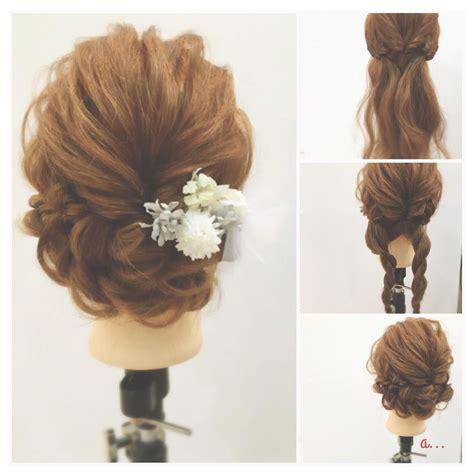 hairstyles arrange これ自分でやったの ドレス別 結婚式お呼ばれヘアアレンジ hair arrange hair style