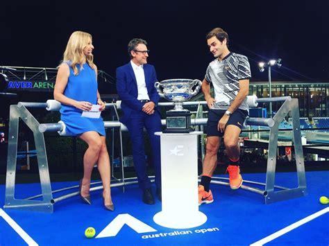 Eurosport Set Mats by Barbara Schett Eagle News Breaking Headlines And