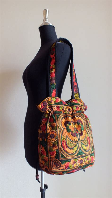 Handmade Purses And Handbags - ethnic handmade bag vintage style work beautifulboho bags