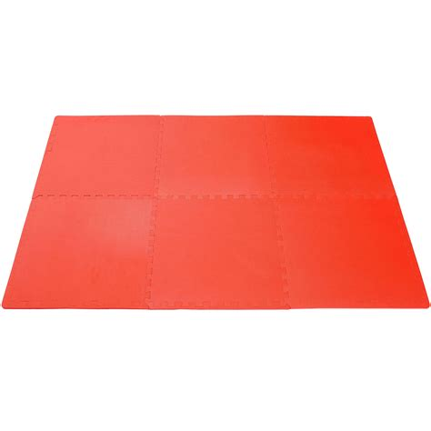Floor Mats Interlocking Foam by Clevr 96 Sq Ft Foam Floor Mat Interlocking Exercise