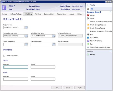 news in scsm12 beta 6 release management