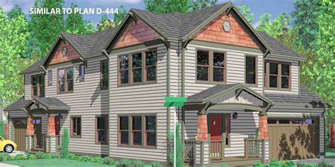 Narrow Lot House Plan craftsman house plans for homes built in craftsman style