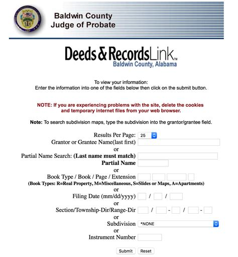 Baldwin County Alabama Property Records Alabama Deed Forms Quit Claim Warranty And Special Warranty Eforms Free