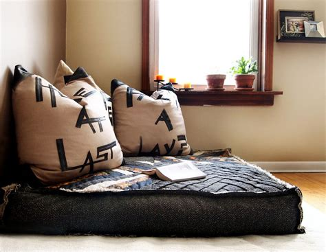 floor couch cushions floor cushion seating and its benefits without the