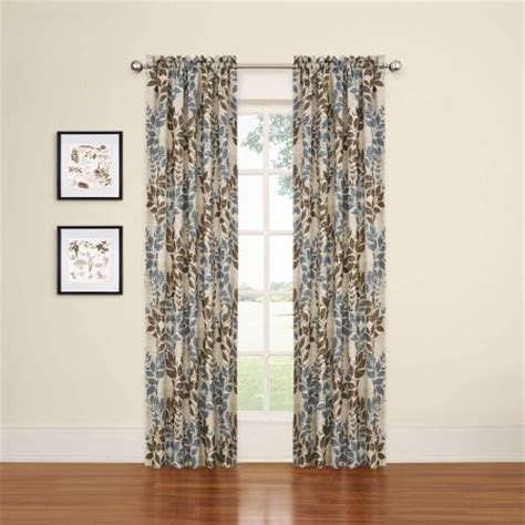 eclipse curtains blackout eclipse arbor blackout window curtain panel walmart com