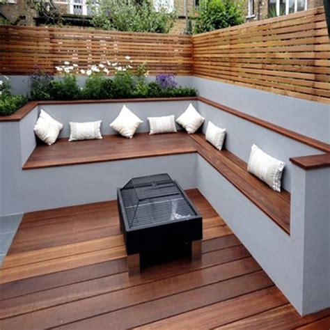 comfortable bench seating home dzine garden ideas add more seating to your garden