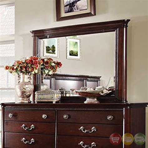 traditional cherry bedroom furniture claymont traditional cherry bedroom set with large raised