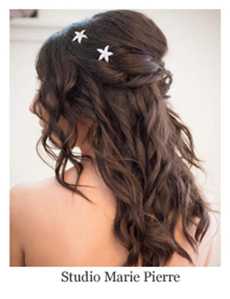 Wedding Hair Half Up Accessories by Half Up Wedding Hairstyles Ideas Looks Inspiration