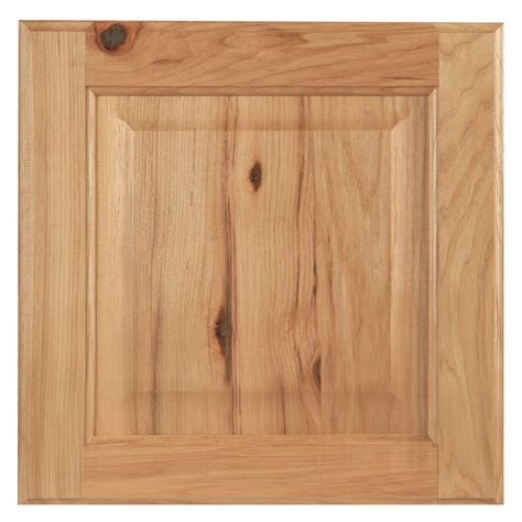 hickory kitchen cabinet doors hton bay 12 75x12 75 in cabinet door sle in hton