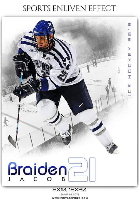 hockey card template photoshop free braiden jacob hockey sports enliven effects