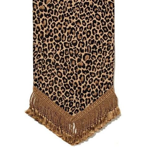 Canaan Company Thundercat Cheetah Table Runner   Runners
