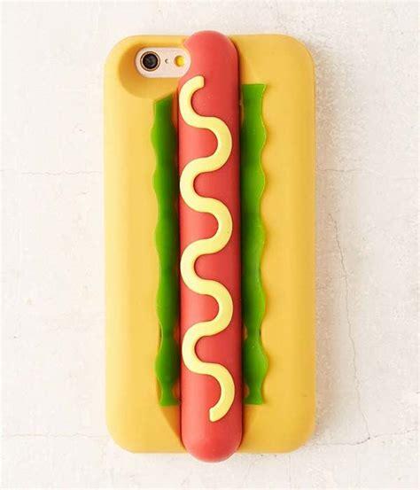hot dog inspired iphone  case gadgetsin