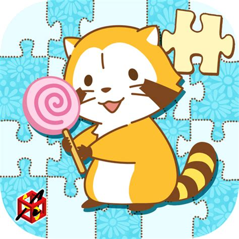 amazon com jigsaw puzzle rascal the raccoon petit