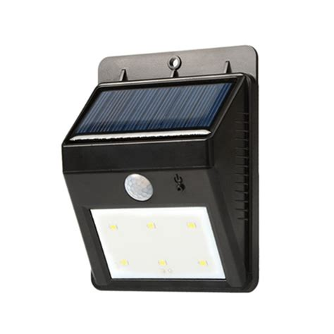 The Range Solar Lights New 6 Led Outdoor Solar Sensor Led Light Pir Motion