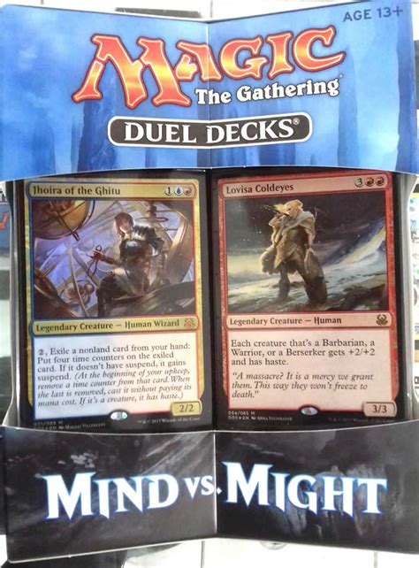 mtg duel decks duel decks mind vs might magic the gathering spoilers