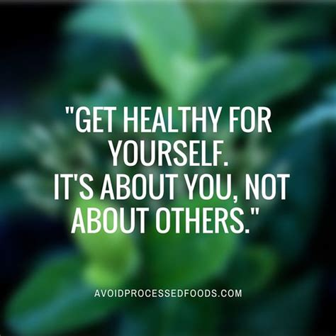 printable wellness quotes quot get healthy for yourself it s about you not about