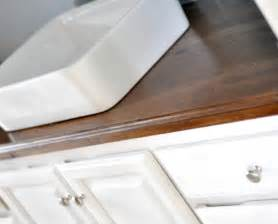Wood Bathroom Countertop Choosing A Replacement Countertop Before Hell Freezes