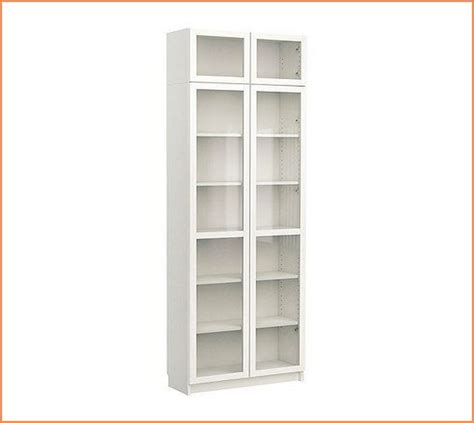 53 white bookcase with doors furniture white wood