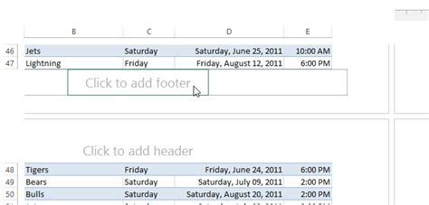 excel page layout show header how to make column headings appear on every page in excel