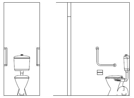 swing ambulant can an accessible disabled toilet be used as an ambulant