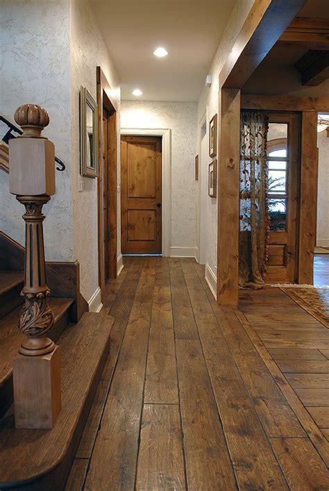 1 Wide Wood Floor - 7 1 4 quot wide plank solid vintage grade oak hardwood