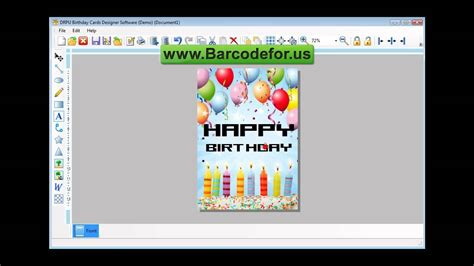 greeting card template for corel draw steps to create birthday cards using drpu birthday card