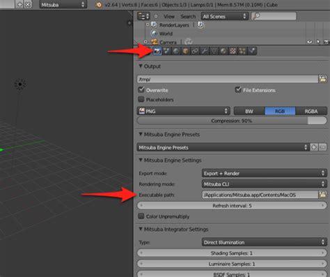 tutorial blender render getting started with blender and mitsuba render blender