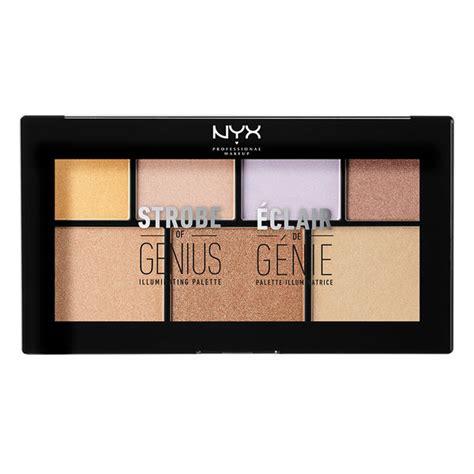 Nyx Highlighter strobe of genius illuminating palette nyx cosmetics