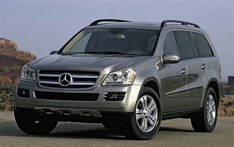 mercedes gl class suvs with 3rd row seating