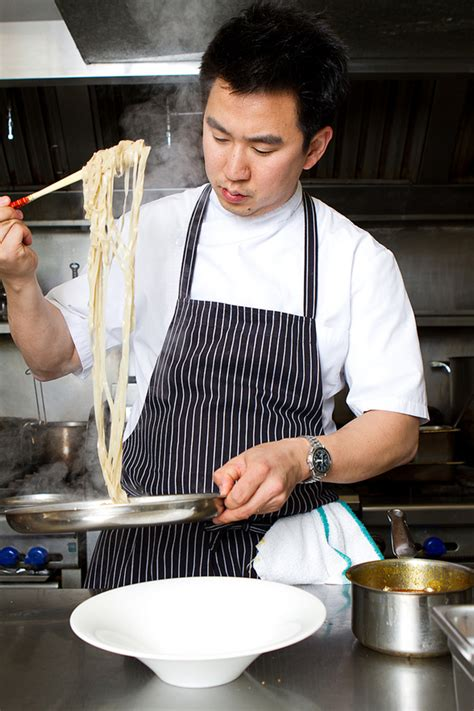 Cooking Aprons Vancouver Goods Angus An Of Maenam To Guest Instruct At The