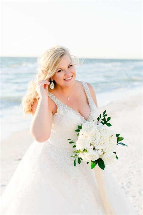 Ailyn Gamis V Style 1 green gold florida inspired clearwater wedding