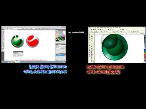 tutorial corel draw logo sony ericsson corel draw vs adobe illustrator doovi