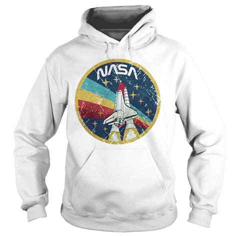 Hoodie Sweater Nasa Premium nasa vintage colors shirt hoodie sweater and v neck t shirt