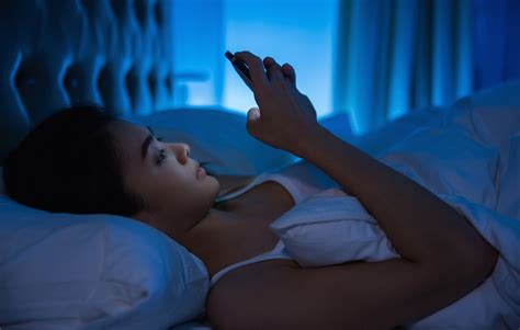 phone in bed don t panic but using your phone in bed can cause