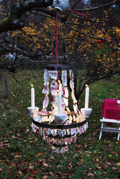 Outdoor Chandelier Diy 26 Creative Diy Projects Made With Broken Tile Diy